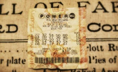What to do with Damaged Lottery Ticket